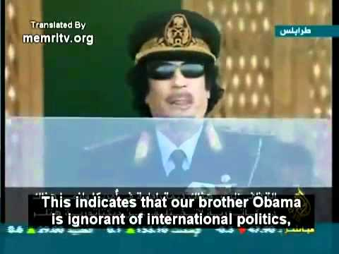 The Truth about the Kennedy Assassination & Obama Told by Gadaffi (MUST SEE)