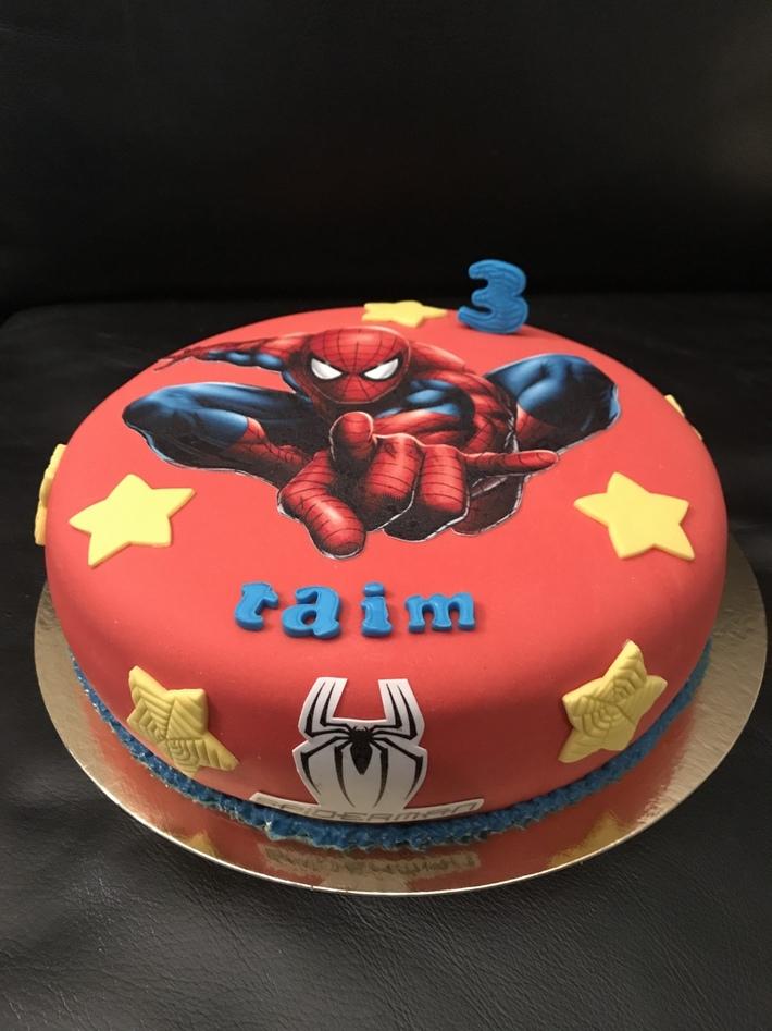Spider-Man taart