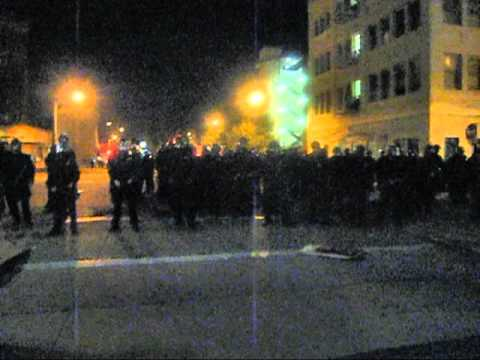 Shot by police with rubber bullet at Occupy Oakland