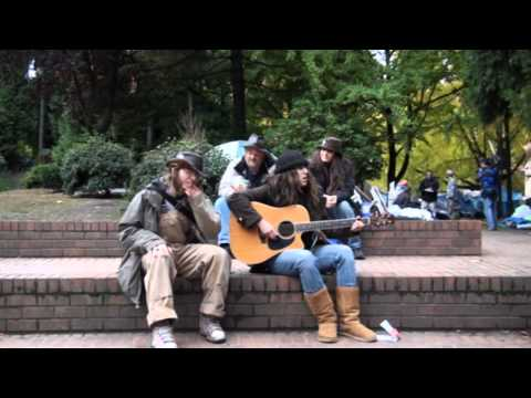 Miriams Well sings at Locked Down in Terry Schrunk Plaza Park 11.7.11 part1