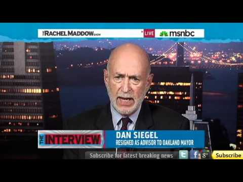 Dan Siegel - Totally futile to try shutting down 'Occupy' protests [11-14-2011]
