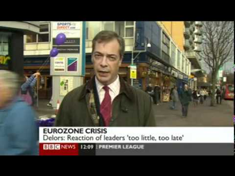 Euro Was Doomed From Start, UKIP Nigel Farage- 3rd Dec 2011
