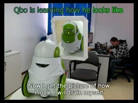 MSNBC: Robot recognizes self in mirror