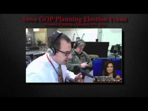 Iowa GOP Vote Fraud & Electioneering • January 2nd, 2011