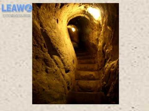 Amazing Underground cities linked together