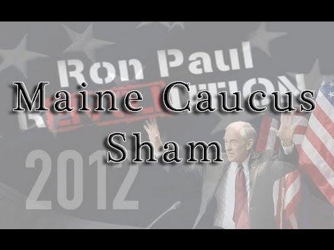 Ron Paul Maine Caucus Sham (WTFY10)