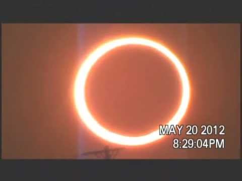 2012 Annular Eclipse (Ring of Fire from Gaines County, TX)