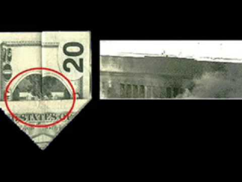 Creepy! U.S  Dollar bills (5, 20,50,100) contains hidden pictures!