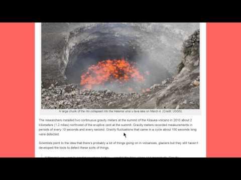 Gravity reveals magma's underground movements