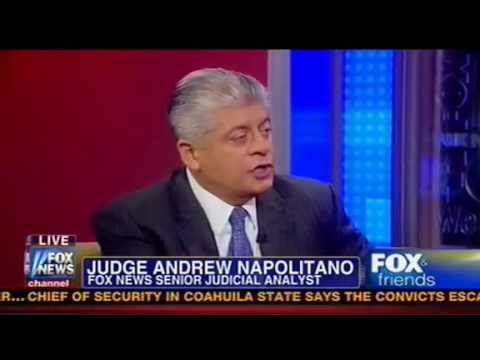 Judge Napolitano Takes On The Fed  'Not Federal, Not A Reserve,' Designed To 'Make Pres. Look Good'