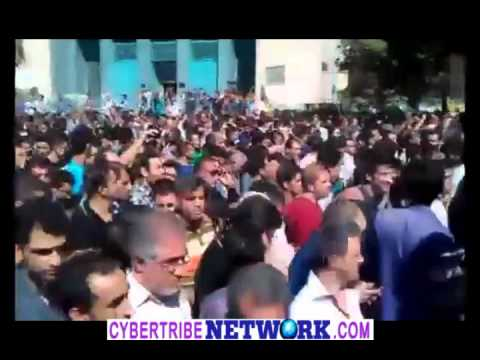 IRAN ON BRINK - Massive anti-regime protest. Death to this Government 03 oct 2012