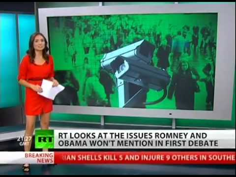 RTAmerica's Top 5 Things you won't Hear at the Presidential Debate