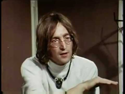 JOHN LENNON The World Is RUN by INSANE PEOPLE! √ ((MIRROR))