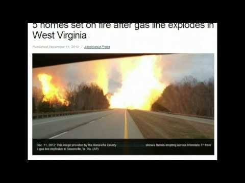 ANOTHER gas line explodes! West Virginia this time