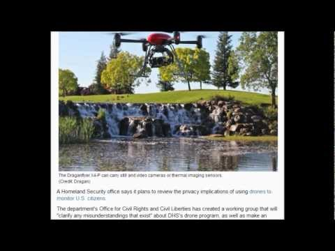 Homeland Security : Let's be clear about armed aerial drone's and privacy, We don't give a sh**
