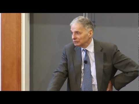 """Nader and Fein at HLS: """"America's Lawless Empire: The Constitutional Crimes of Bush and Obama"""""""