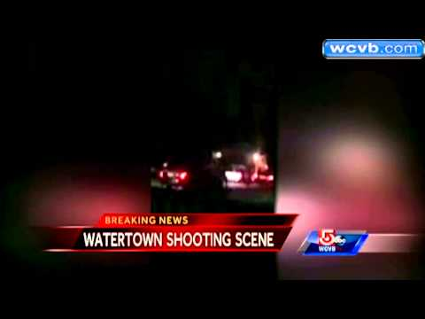 RAW VIDEO  Shootout between, suspects in Watertown