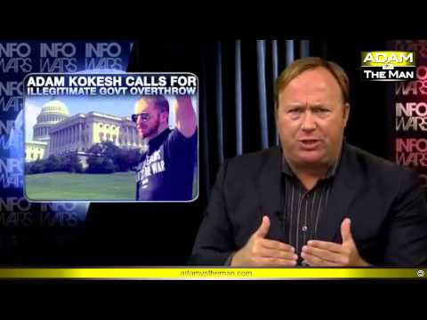 Alex Jones joins Adam Kokesh #OpenCarry130704 - Will Attend - Calls for an Army of Cameras