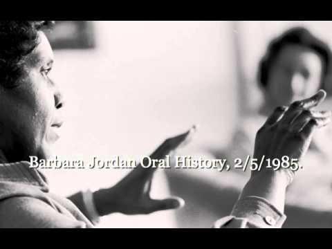 Remembering Barbara Jordan - Another Amazing Woman