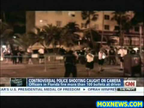 POS Cops Fire Over 100 Bullets At Immobilized Driver Wounding FOUR INNOCENT BYSTANDERS