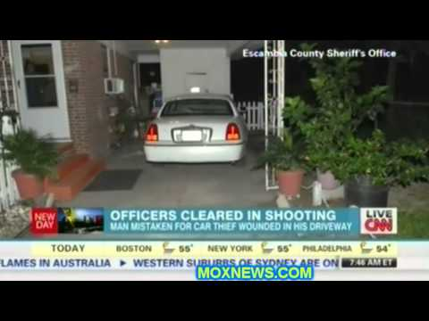 "POS Cops Found ""Justified"" In Shooting Man STANDING Next To HIS Car! In HIS Driveway!"