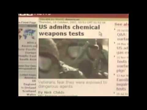 U.S. ADMITS SPRAYING BIOLOGICAL  POISON on us - Secret tests on U.S ?