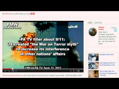 Palestinian TV educates public 911 was an inside job