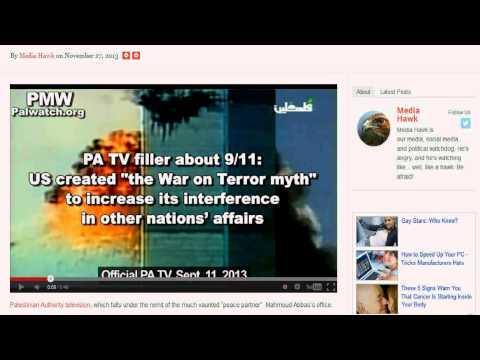 Palestinian TV educates public 911 was an inside job