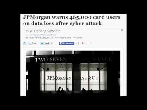 JPMorgan warns 465,000 card users on data loss after cyber attack.
