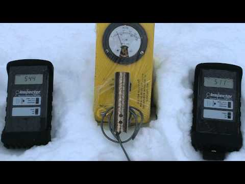 12/15/2013 -- ☢ HIGH LEVELS of Radiation ☢ 76.9CPM in the Snow - St. Louis, Missouri  (2nd test)