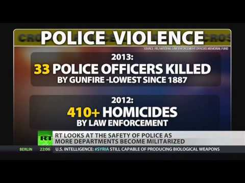 Police Deaths Down, Police Killings Stay High