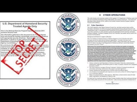 SHOCKING Leaked DHS Drill Military, Veterans, Capitalists are the Enemy