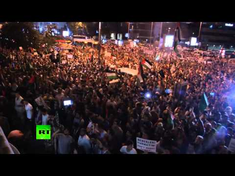 RAW: Israeli Gaza offensive sparks global rallies, thousands protest