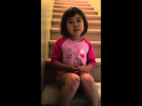 A 6 year old girl gives her mom a lesson of life after her parents got separated
