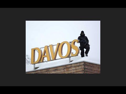 Markets Crash As Top Criminals In Davos
