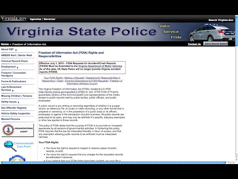 FOIA For Video of Police Drill/Shooting @ Richmond Greyhound Station