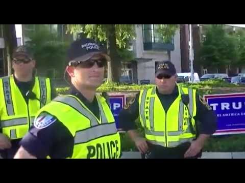 Trump Police State Violates Constituion