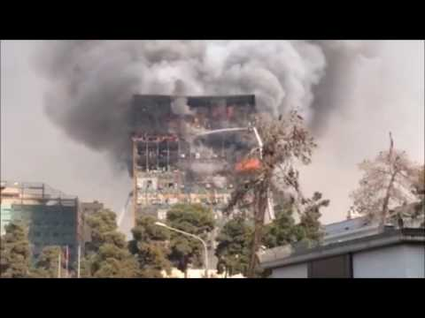 Plasco Building collapse - Tehran, Iran - January 19, 2017