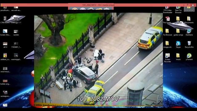 UK Parliament false flag?