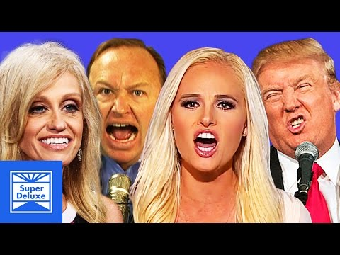 Snowflake Squad: Alex Jones, Kellyanne Conway, and Donald Trump | Super Deluxe Super Cuts