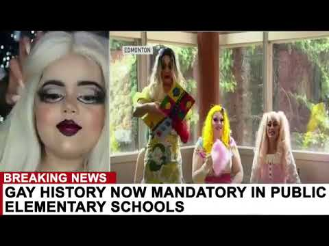 GAY HISTORY NOW MANDATORY IN PUBLIC ELEMENTARY SCHOOLS