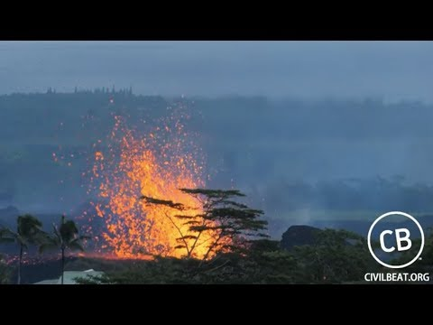 Super HD Cam - Live Video: Kilauea Lava Flow Activity In Lower Puna