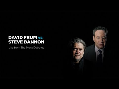 "The ""Explosive"" Debate Between Bannon And Frum On ""The Rise Of Populism"""
