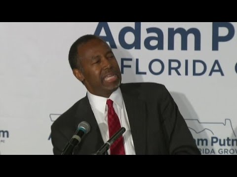 Ben Carson: Changing gender akin to changing ethnicity