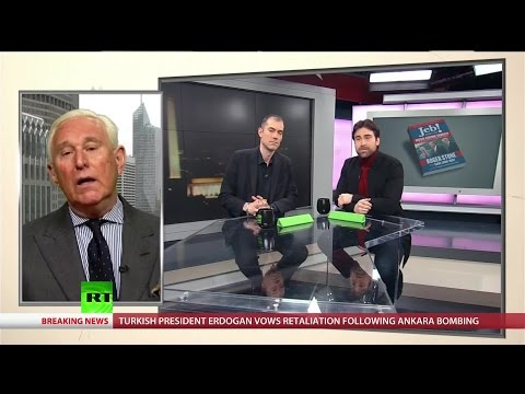 Roger Stone lays out the criminal enterprise America knows as the Bush family.
