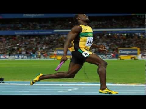 JAMAICA MUSIC ViDEO MIX: 4x100m Team Jamaica & Usain Bolt Daegu September 4, 2011