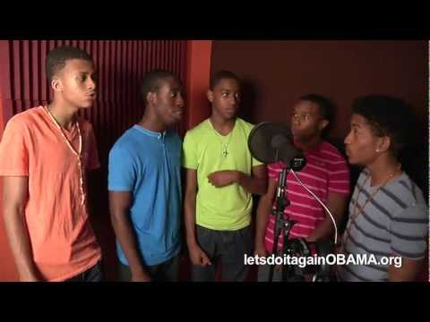 Let's Do It Again (Obama 2012) - Teens in Orlando Making a Difference!!!