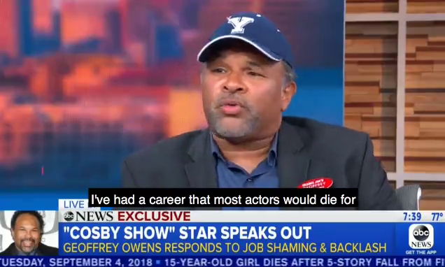 Cosby Show star Geoffrey Owens breaks his silence after being job shamed and says he's proud of his work at Trader Joe's