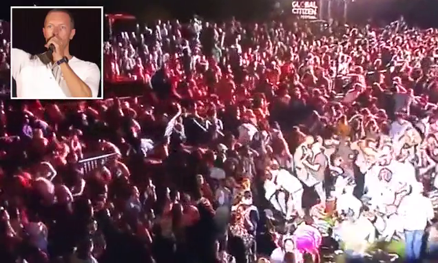 Thousands stampede at Global Citizen concert in Central Park