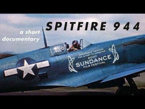 WWII pilot gets shown footage of his 1944 Spitfire crash that he's never seen until now.